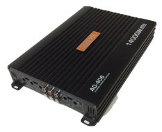 ADS AD406 Power amplifier mobil 4 Chenel Mosfet-Hitam