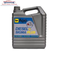 Agip Diesel Sigma Plus SAE-40 Oli Mobil Diesel 5 Liter