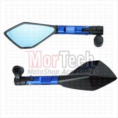 Spesifikasi Agras Kaca Spion Sepion Ninja 150 Fairing Tomok Cnc Biru Beserta Harganya