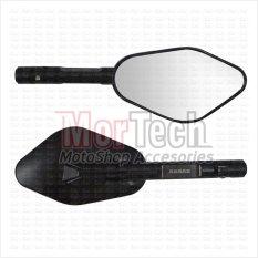 Agras Kaca Spion Sepion Scoopy FI Fairing 704 CNC - Hitam