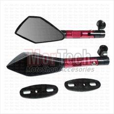 Agras Kaca Spion Sepion Vario FI 150 cc Fairing Tomok CNC - Merah