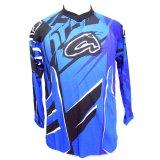 Spesifikasi Ahrs Kaos Motocross Anak L Biru Tua Baru