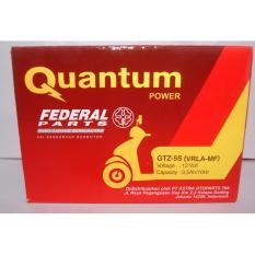 Jual Aki Accu Quantum Federal Gtz 5S Ori Astra Termurah