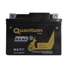 Aki motor Quantum GTZ5-S aki MF - Hitam
