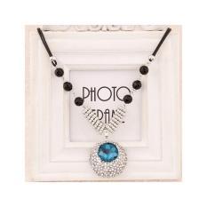 Aksesoris Kalung Oval Diamond Gems - RKL6191
