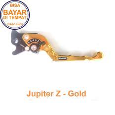 Aksesoris Motor Jupiter Z Handle REM Variasi Motor FULL CNC Jupiter Z - Gold