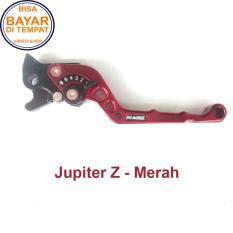 Aksesoris Motor Jupiter Z - Handle REM Variasi Motor FULL CNC Jupiter Z - Merah