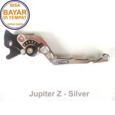 Aksesoris Motor Jupiter Z - Handle REM Variasi Motor FULL CNC Jupiter Z - Silver