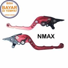 Harga Aksesoris Nmax Handle Rem Variasi Motor Full Cnc Nmax Merah Virgo Racing Dki Jakarta