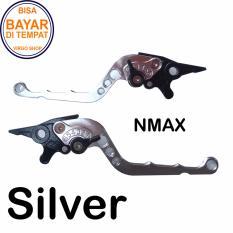 Spesifikasi Aksesoris Nmax Handle Rem Variasi Motor Full Cnc Nmax Silver Terbaru