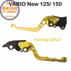 Harga Aksesoris Vario Handle Rem Variasi Motor Full Cnc Vario 150 Gold Termurah
