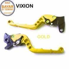 Aksesoris Vixion Handle REM Variasi Motor FULL CNC Vixion - Gold