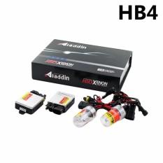 Aladdin Lampu Hid Xenon Mobil ZZ-AD-9006 Universal Luminous 6000k - Putih