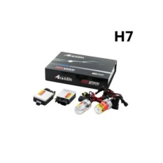 Aladdin Lampu Hid Xenon Mobil ZZ-AD-H7 Universal Luminous 8000k Putih