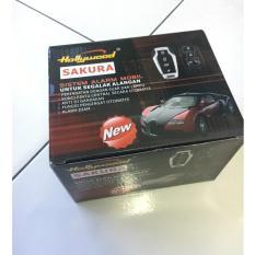alarm mobil merek hollywood sakura /  Remote alarm mobil UNIVERSAL premium
