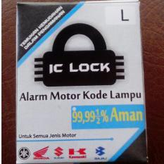 Alarm Motor Kode Lampu IC Lock