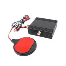 Alarm Sepeda Motor Pengaman Sepeda Kartu IC Alarm Kunci Immobilizer Induksi Tidak Terlihat (Hitam)