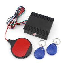 Alarm Keamanan Sepeda Motor IC Kartu Alarm Induksi Invisible Lock Immobilizer Lock