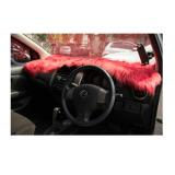 Jual Alas Bulu Dashboard Mobil Merah Bulu Panjang Murah Indonesia