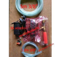 Alat Pencuci Motor Mobil Kandang Pompa 100 Psi 3 Ampere Adaptor Indonesia Diskon