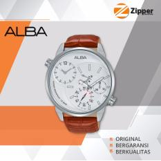 Alba Active Jam Tangan Pria Analog - Tali Kulit - A2A009X1