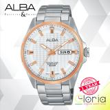 Harga Alba Active Jam Tangan Strap Stainless Steel Silver At2052X1 Alba
