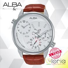 Toko Alba Active Jam Tangan Tali Kulit Coklat A2A009X1 Alba