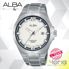 Jual Alba Active Jam Tangan Tali Stainless Steel Silver As9C03X1 Indonesia Murah