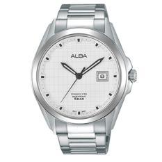 Review Terbaik Alba Active Jam Tangan Tali Stainless Steel Silver As9C81X1