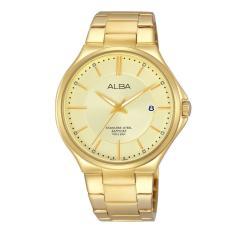 Alba AS9B34X1 Jam Tangan Pria - Gold