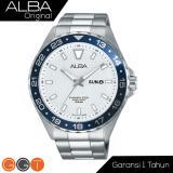 Harga Alba Av3503 Jam Tangan Pria Tali Logam Blue Silver Indonesia