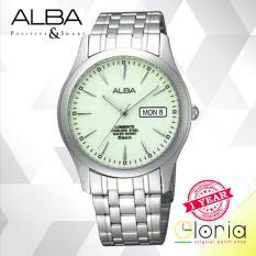 Beli Alba Axnd57X1 Jam Tangan Tali Stainless Steel Silver Online Murah