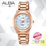 Harga Alba Fashion Jam Tangan Wanita Tali Stainless Steel Gold Ah7G16X1 Yang Murah