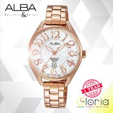 Situs Review Alba Ah7J84X1 Jam Tangan Wanita Fashion Tali Stainless Steel Rose Gold