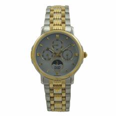 ALBA Jam Tangan Pria - Silver Gold Grey - Stainless Steel - ASFB20