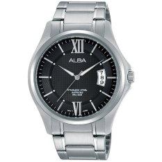 Spesifikasi Alba Jam Tangan Pria Silver Stainless Steel As9959 Merk Alba