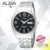 Toko Alba Axnd61X1 Jam Tangan Tali Stainless Steel Silver Alba Jawa Timur