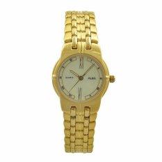 ALBA Jam Tangan Wanita - Gold - Stainless Steel - ATCS10