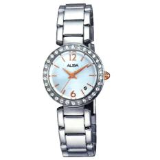 Alba - Jam Tangan Wanita - Silver - Stainless Steel - AH7D61-2 a558c8e974