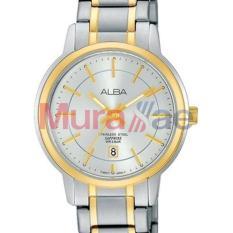 Alba Jam Tangan Wanita Stainless Steel - White dial - AH7G80