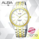 Spesifikasi Alba Prestige Jam Tangan Tali Stainess Steel Gold Silver Arsy14X1 Baru