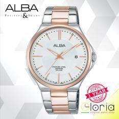 Dapatkan Segera Alba Prestige Jam Tangan Tali Stainless Steel Silver Rosegold As9B38X1