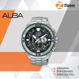Toko Alba Signa Chronograph Jam Tangan Pria Tali Stainless Steel Au2169X1 Online Terpercaya