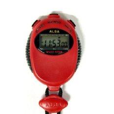 ALBA Stopwatch Sw-01 - AXA25ZX1 - Merah