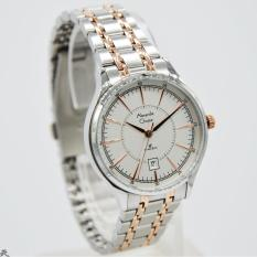 Alexandre Christie 100% Original AC8553L Jam Tangan Wanita Stainless Steel  silver kombinasi rose 3effddcbef