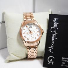 Beli Barang Alexandre Christie 2494 Jam Tangan Wanita Ac 2494 Rose Gold Stainless Steel Anti Air Online