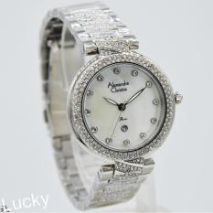 Harga Alexandre Christie 2656L Jam Tangan Wanita Stainless Steel Silver Dan Spesifikasinya