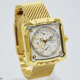 Jual Alexandre Christie 3030L Jam Tangan Wanita Gold Baru