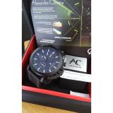 Jual Alexandre Christie 9200 Night Vision Hatrium 3 Jam Tangan Pria Hitam Import