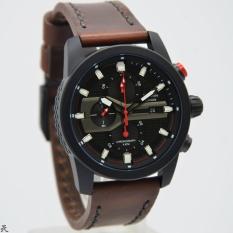 Beli Alexandre Christie Ac 6270 Jam Tangan Casual Pria Leather Strap Brown Kredit Dki Jakarta